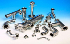 Stainless Steel Tri Clamp Fitting by Sanipure Water Systems
