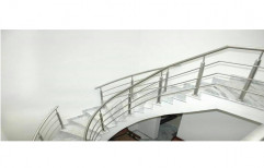 Staircase Railing by S. R. Ceiling Solution & Interiors