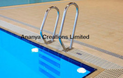 Steel Swimming Pool Handrail by Ananya Creations Limited