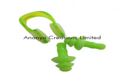 Swim Ear Plug and Nose Clip Set by Ananya Creations Limited