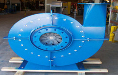 Turbo Radial Open Wheel High Pressure Blower by Nipa Commercial Corporation