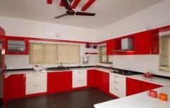U Shaped Modular Kitchen by Philips Interiors International