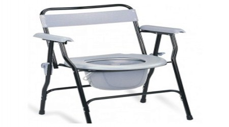 Back Support Commode Stool by Jeegar Enterprises