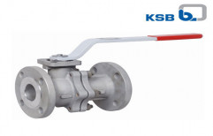 Cast Ball Valves by KSB Pumps Limited