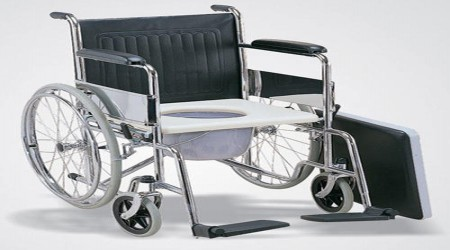 Commode Wheel Chair by Medi-Surge Point