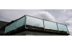 Glass Railing Designing Service by S. R. Ceiling Solution & Interiors