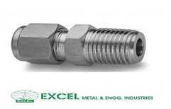 Male Connectors by Excel Metal & Engg Industries