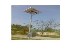 Outdoor Solar Street Light Pole by Createch Fab & Automation