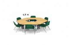 Round Library Tables by I V Enterprises