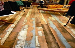 Rustic Wood Flooring by The Interior Studio