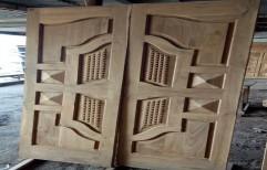 Sagvan Double Door by Gulshan Scrap Mart