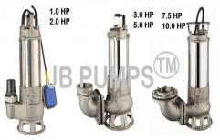Sewage Cutter Pump by Jay Bajarang Engineering & Services