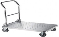 Stainless Steel Platform Trolley by Sanipure Water Systems