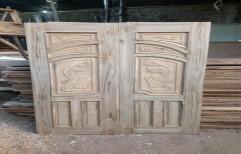 Teak Wood Door by Woodland Timber Traders