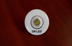 2W Round LED Spotlight by Protonics Systems India Private Limited
