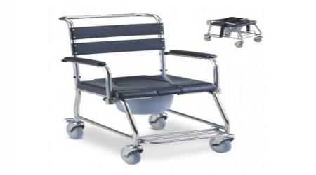 Foldable Commode Wheelchair by Jeegar Enterprises