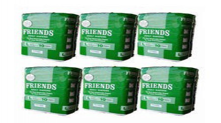 Friends Large Adult Diapers by Mangalam Surgical