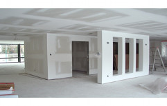 Gypsum Partition Wall by S. R. Ceiling Solution & Interiors