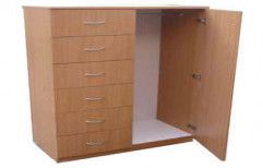 Laminated Wooden Wardrobe by S.S Decors