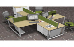 Modular Office Workstation by Meenacshi Interiors