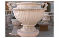 Sandstone Pot by Priyanka Construction