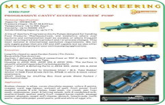 Screw Pump by Micro Tech Engineering