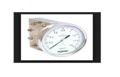 Single Diaphragm Differential Pressure Gauges by Plastico Pumps