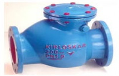Swing Check Type Reflux Valve by Kirloskar Brothers Limited