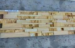 Teak Wood Wall Cladding by KK Enterprises