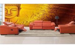 Wallpaper by S L Interior LLP.