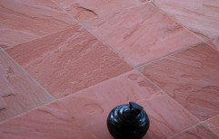 Agra Red Antiqued Sandstone by Priyanka Construction