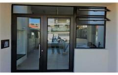Aluminium Hinged Doors by Alkraft Decorators Private Limited