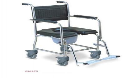 Armrest Commode Wheelchair by Jeegar Enterprises