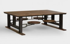 Cafeteria Table by Four Corner's Interiors