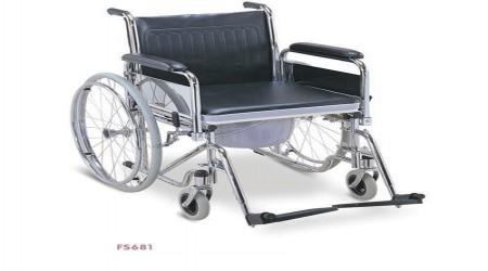 Commode Sheet Wheelchair by Jeegar Enterprises
