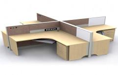 Designer Computer Table by Raaghavi Associates