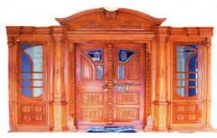 Designer Wooden Door by SR Trading
