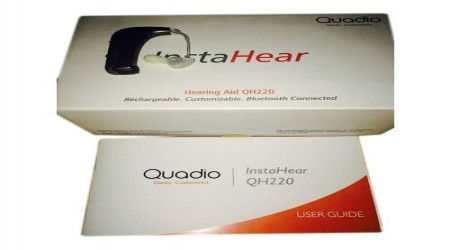 Hearing Aid Rechargeable Quadio by Shraddha Speech & Hearing Clinic
