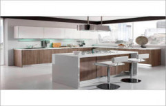 High Gloss Modular Kitchen by Balaji Traders