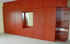 Home Wooden Wardrobe by Raaghavi Associates