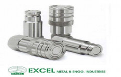 Hydraulic Quick Release Coupling by Excel Metal & Engg Industries