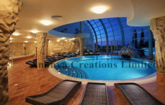 Indoor Swimming Pool Design by Ananya Creations Limited