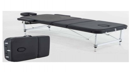 Portable Foldable Wooden Massage Table by Lipsa Impex
