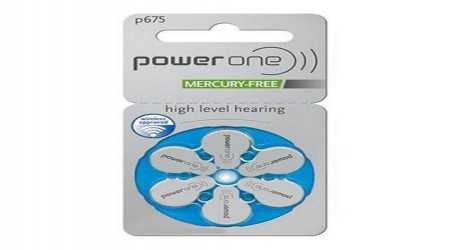 Power One P675 1.45V PR44 Hearing Aid Batteries by Waves Hearing Aid Center
