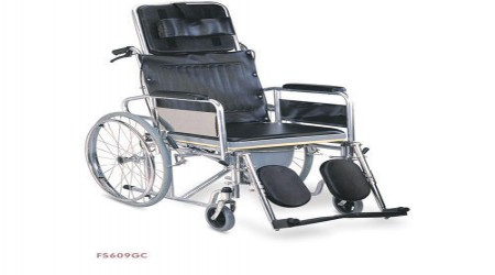 Reclining Commode Wheelchair by Jeegar Enterprises