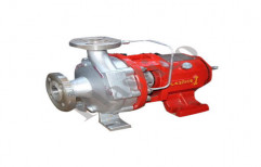 Semi Open Impeller Centrifugal Coupled Pump by Plastico Pumps