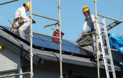 Solar Roof Top System Installation by Flare Solar Solutions & Engineering Services