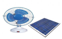 Solar Table Fan by Thejas Solar And Power Solutions