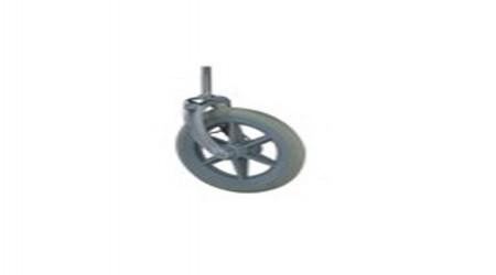Wheel Chair Front Wheel by Jeegar Enterprises