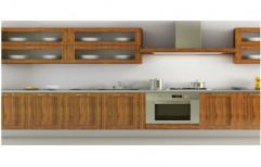Wooden Kitchen Shutter by Raaghavi Associates